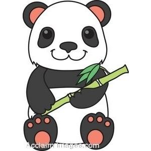 clipart picture panda cute