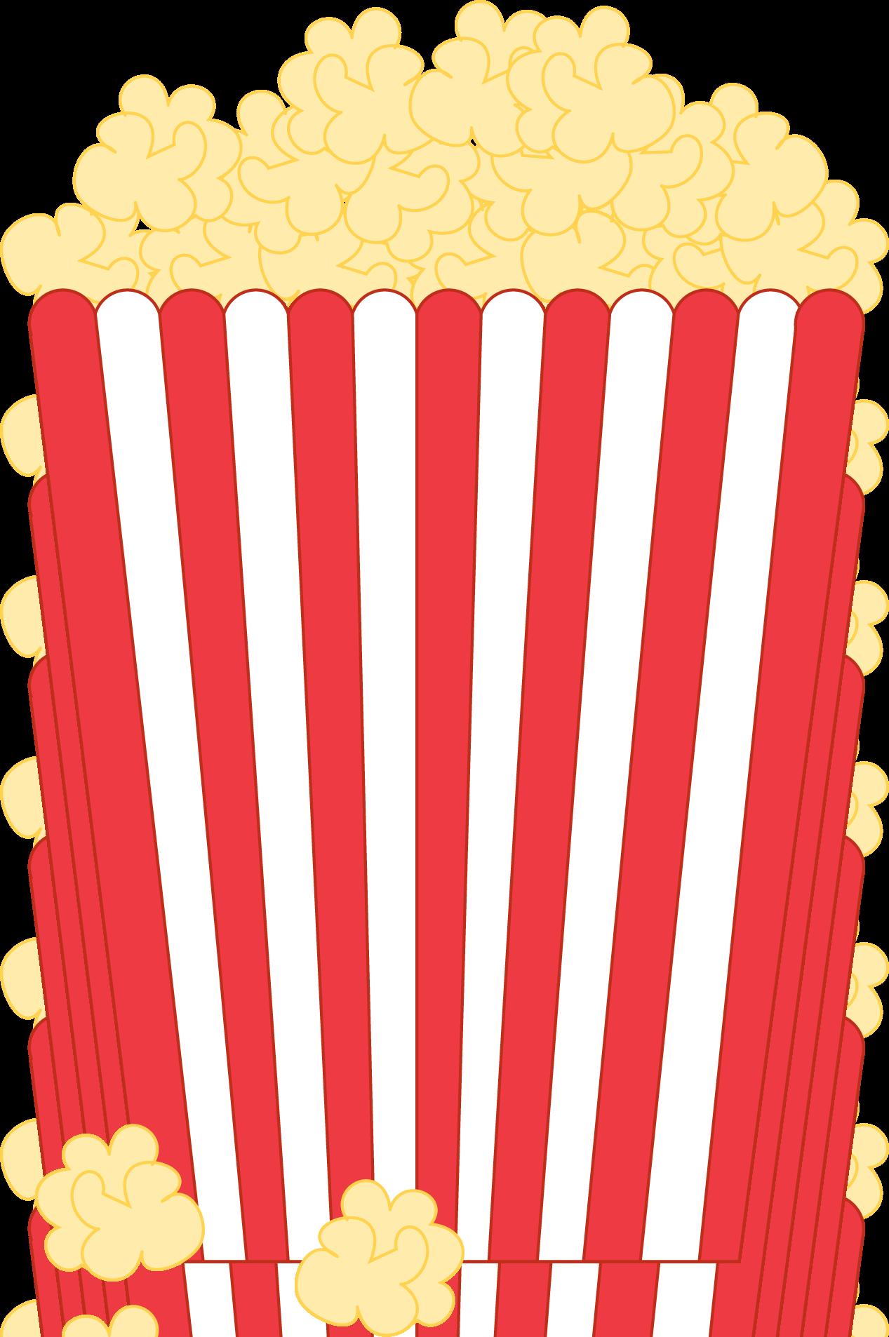 Clipart Popcorn