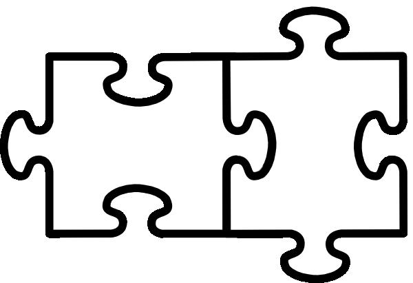 ... Clipart puzzle piece outline ...