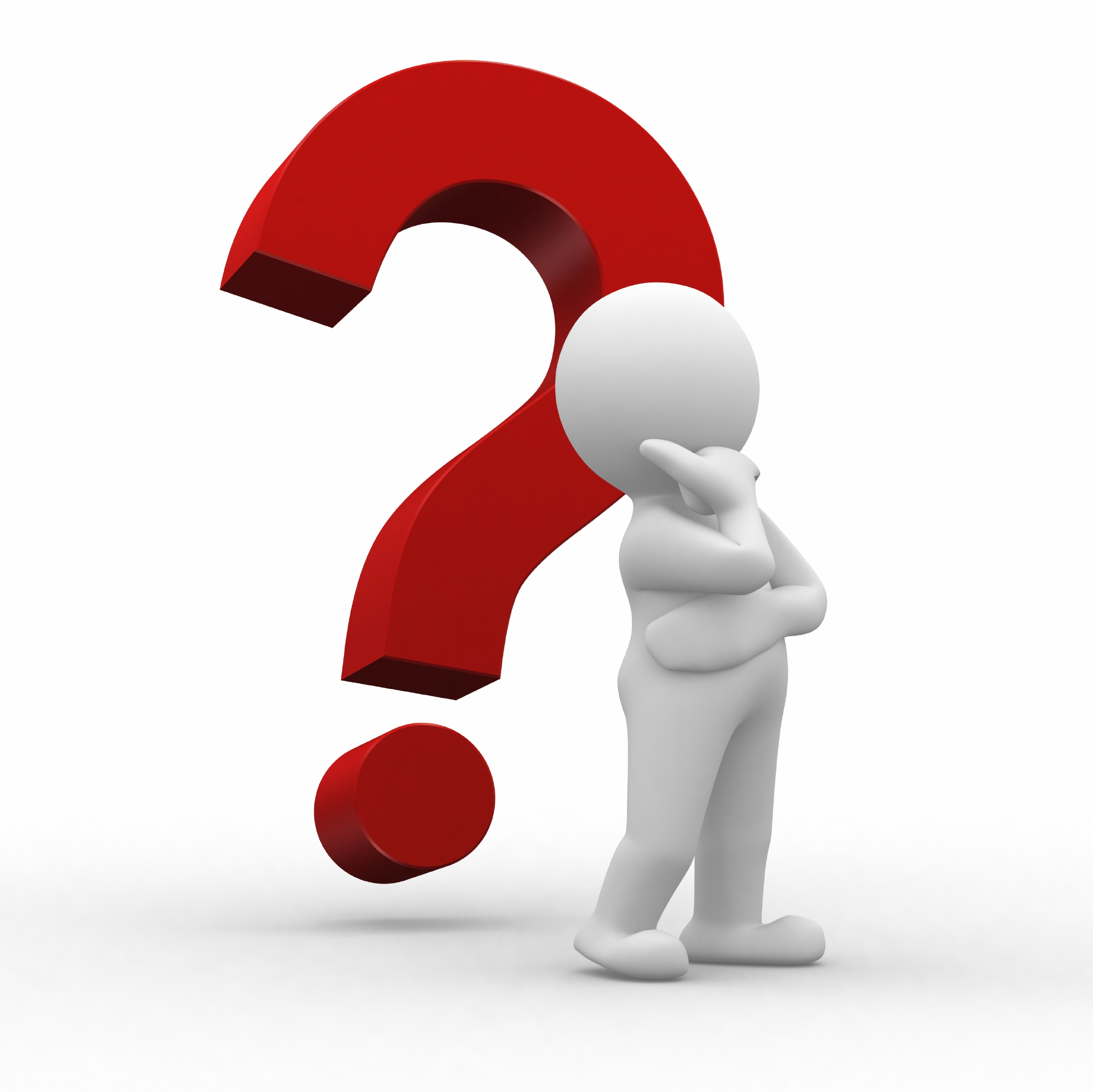 Clipart Question Mark 3d