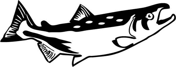 Clipart salmon - ClipartFest