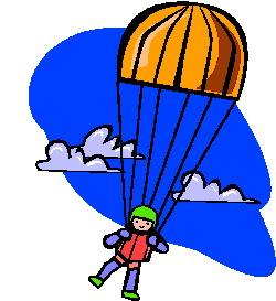Clipart Saut En Parachute Clipart