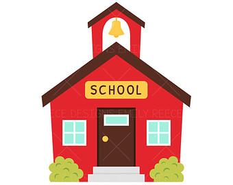 Clipart Schoolhouse