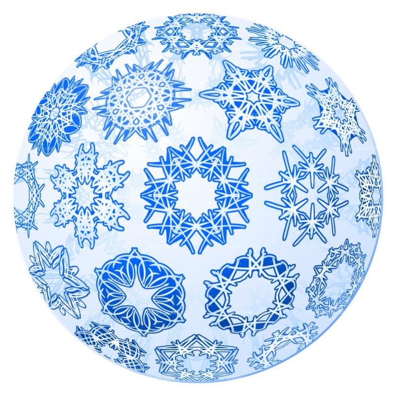 Clipart Snowball Royalty Free Vector Design