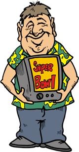 ... Clipart super bowl ...