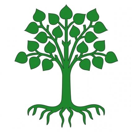clipart tree. oak tree vector free% .