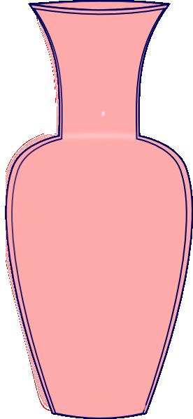 Clipart Vase Pink Vase Clip Art Vector