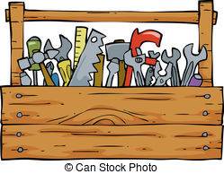Clipartby timurock10/1,442; Toolbox on a white background vector  illustration