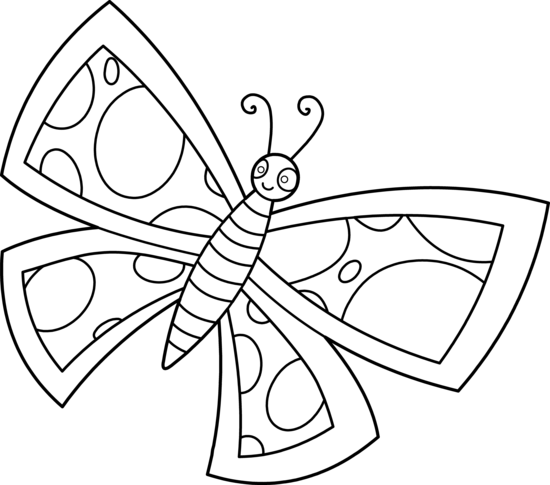 Cliparti1 Butterfly Clipart Black And White u0026middot; Butterfly Line Art