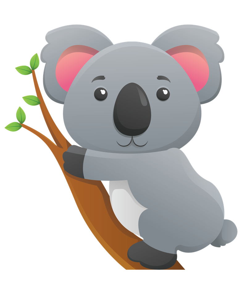 Clipartlord Com Exclusive This Cute Koala Clip Art Is Great For Use On