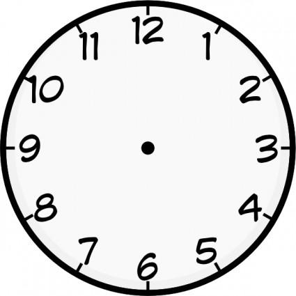 Clock clip art Vector clip ar - Time Clock Clip Art