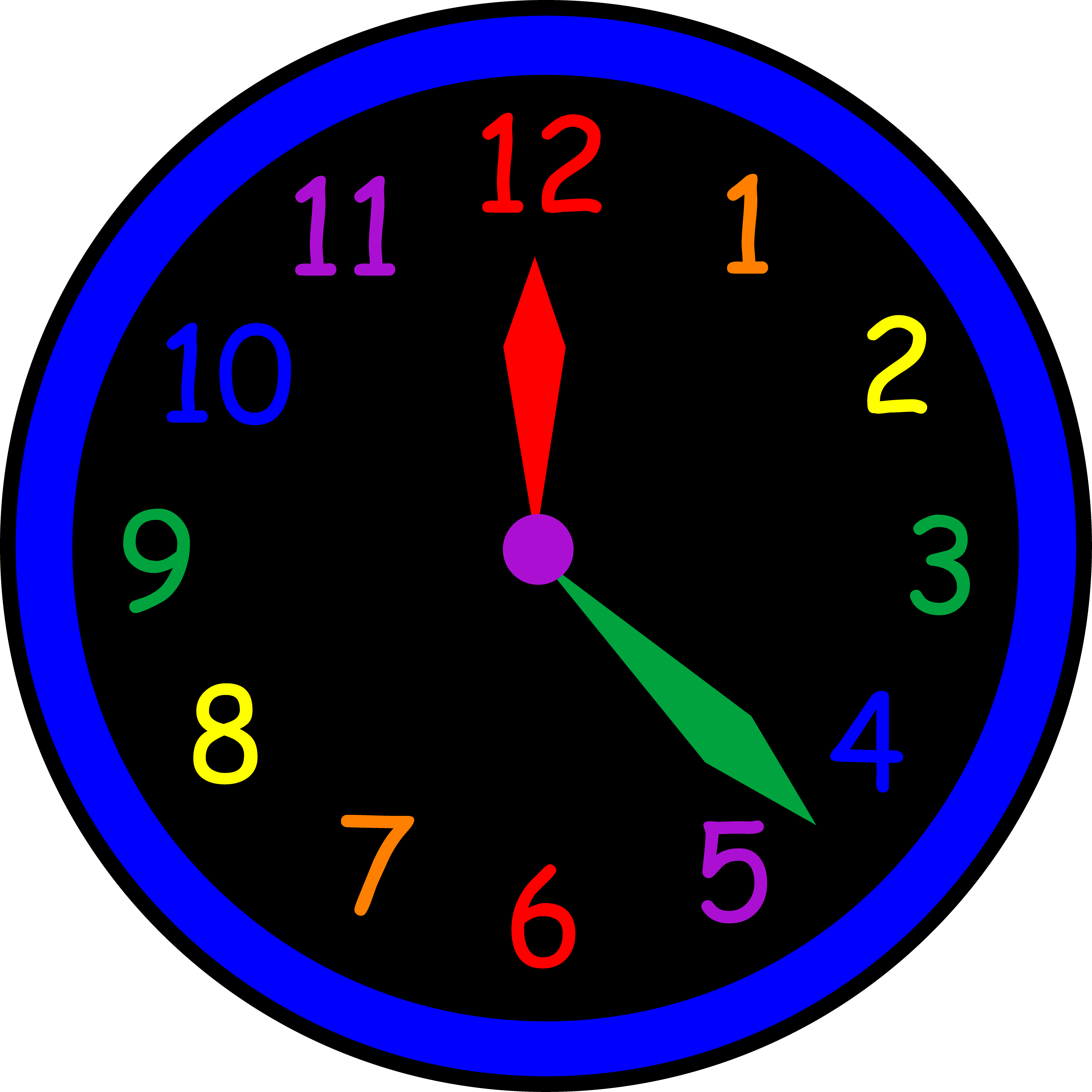 Clock Clipart For Kids Clipar - Clock Clipart