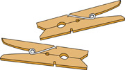 clothespins. Size: 47 Kb From: Objects