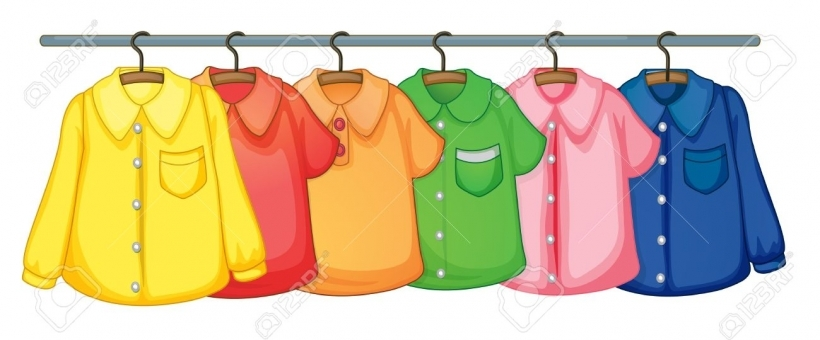 clipart clothes clothes hanging stock illustrations cliparts and royalty  free with free clip art