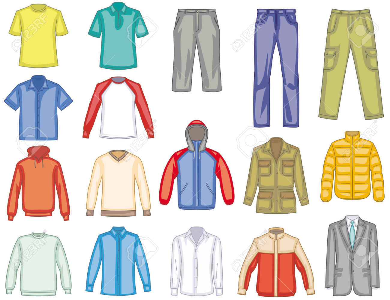 clothing clip art #20