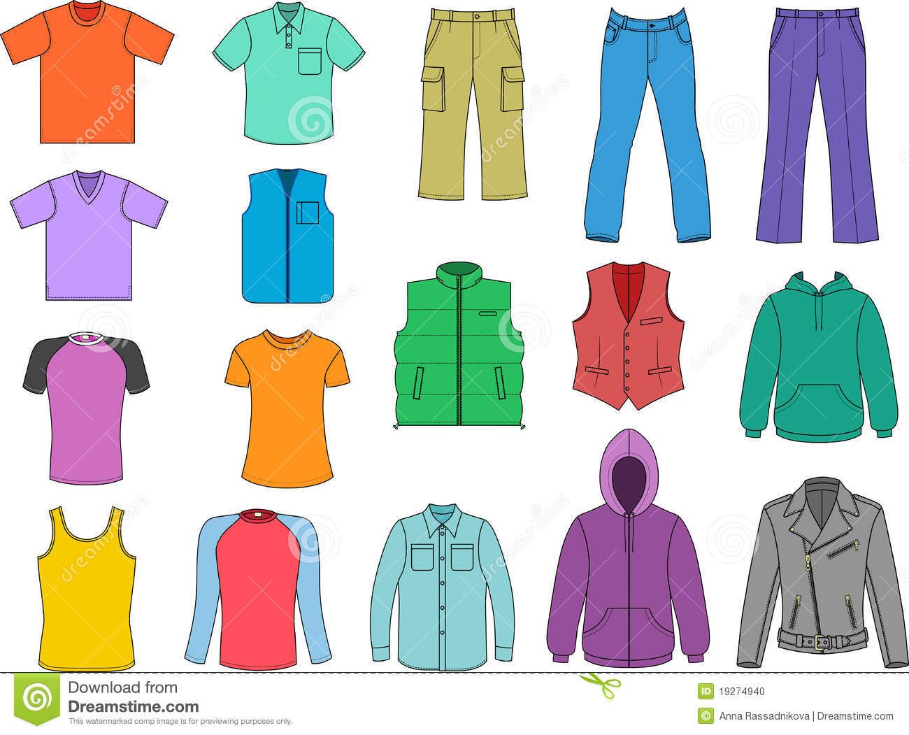 clothing clip art #8