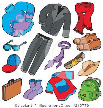 Fall Clothing Clipart #1