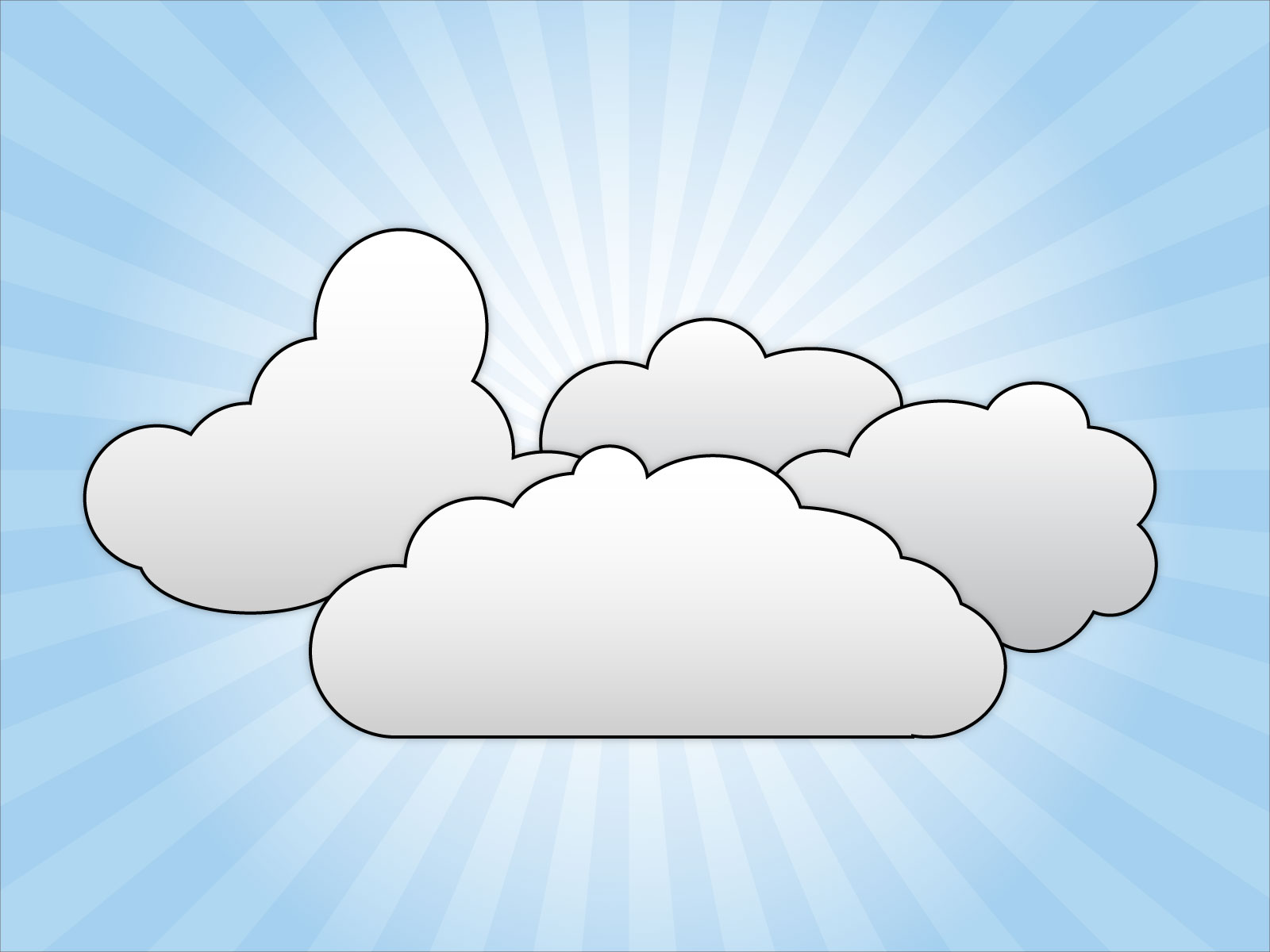 Cloud Clip Art Printable Pictures