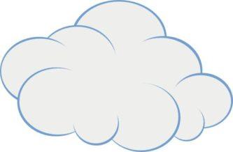 Clipart wind blowing cloud cl - Cloud Clipart