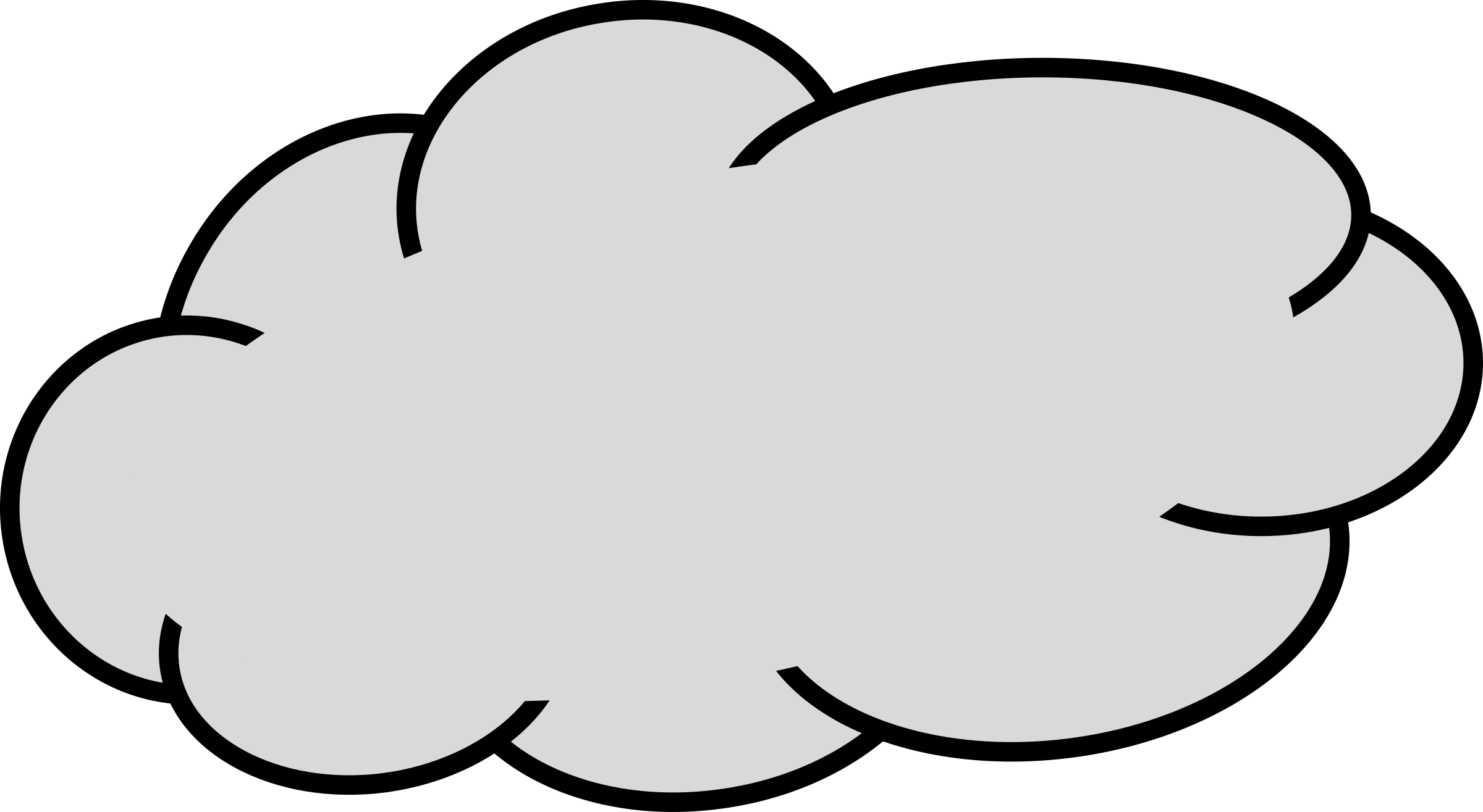 Cloud Clipart #669 - Cloud Clipart