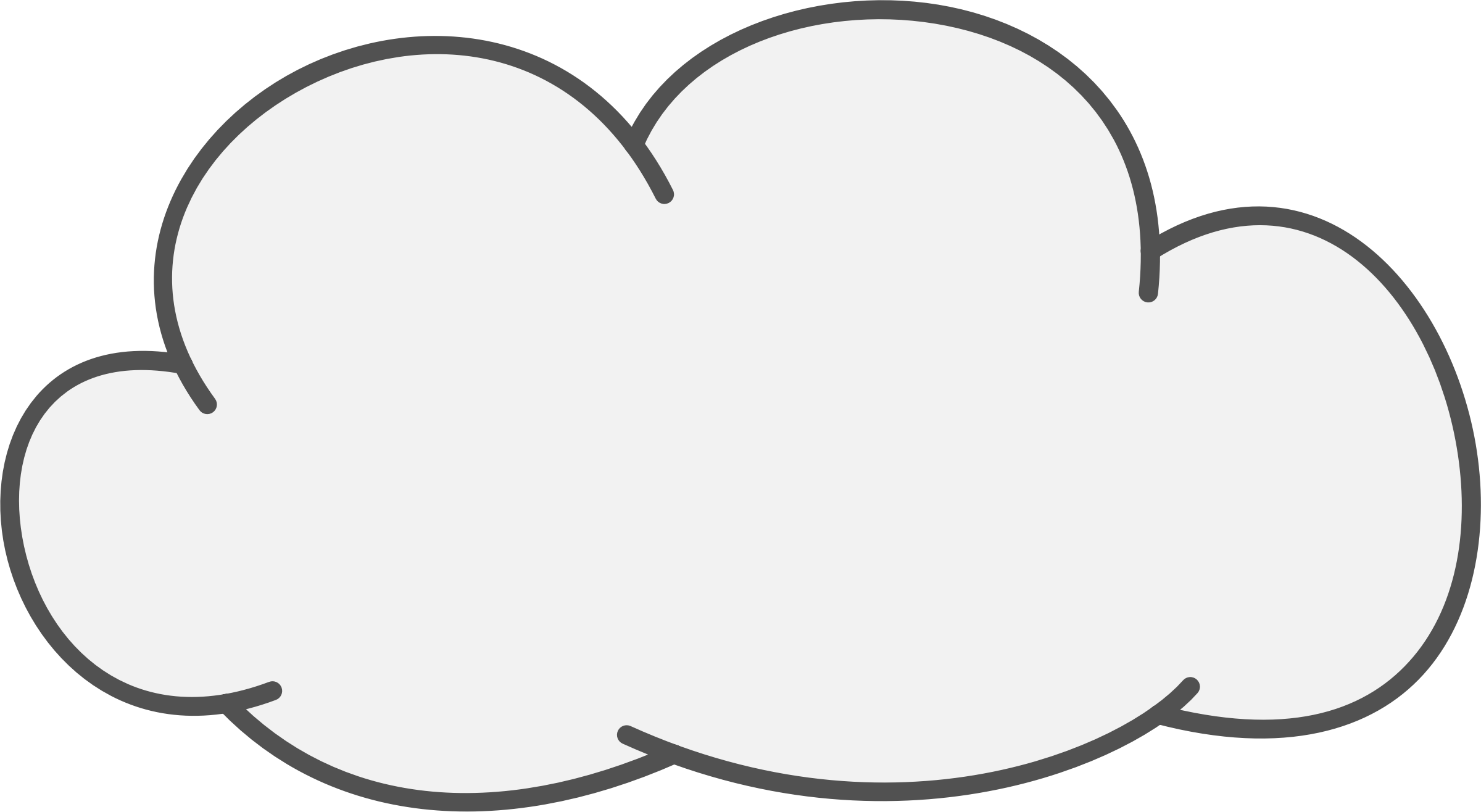 Cloud clipart clear background #1