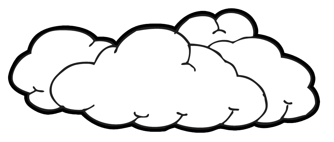 Cloudy clipart hostted