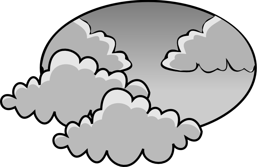 Cloudy Weather Clipart. Cloudy