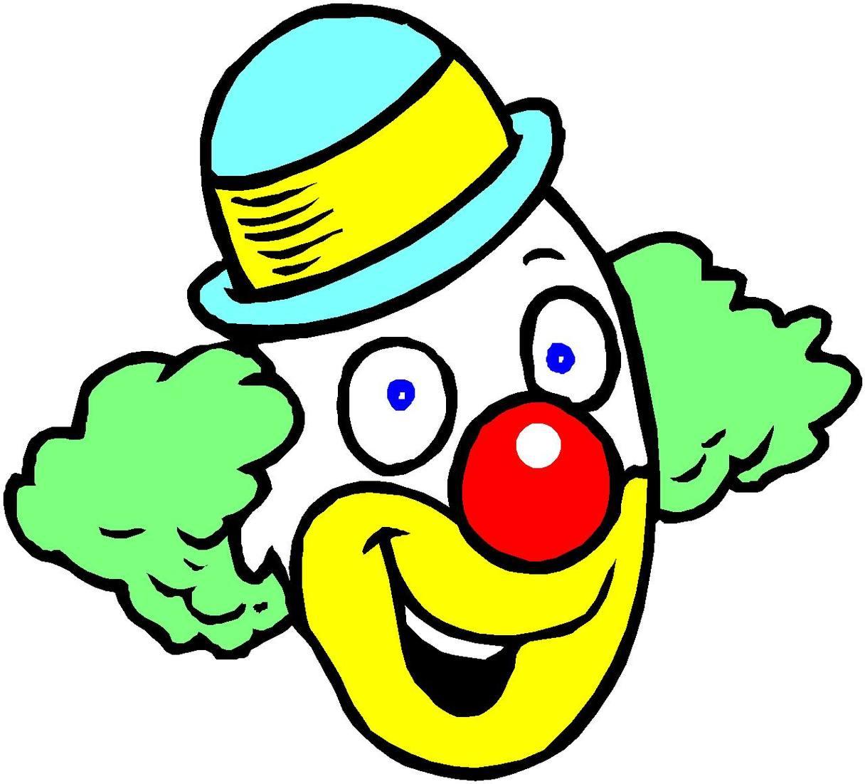 Clown clip art free clipart .