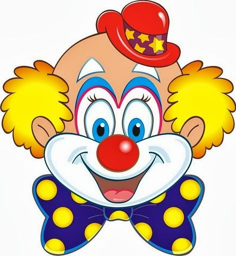 Clown Clip Art 122 Best Clip Art Clowns Clipart Images On Pinterest  Templates