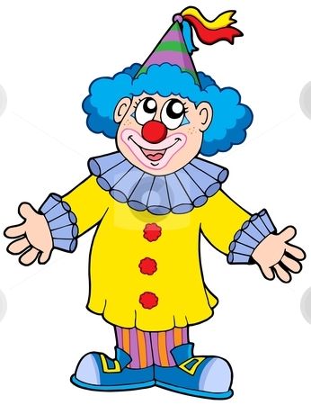 Clown Clipart Page 1