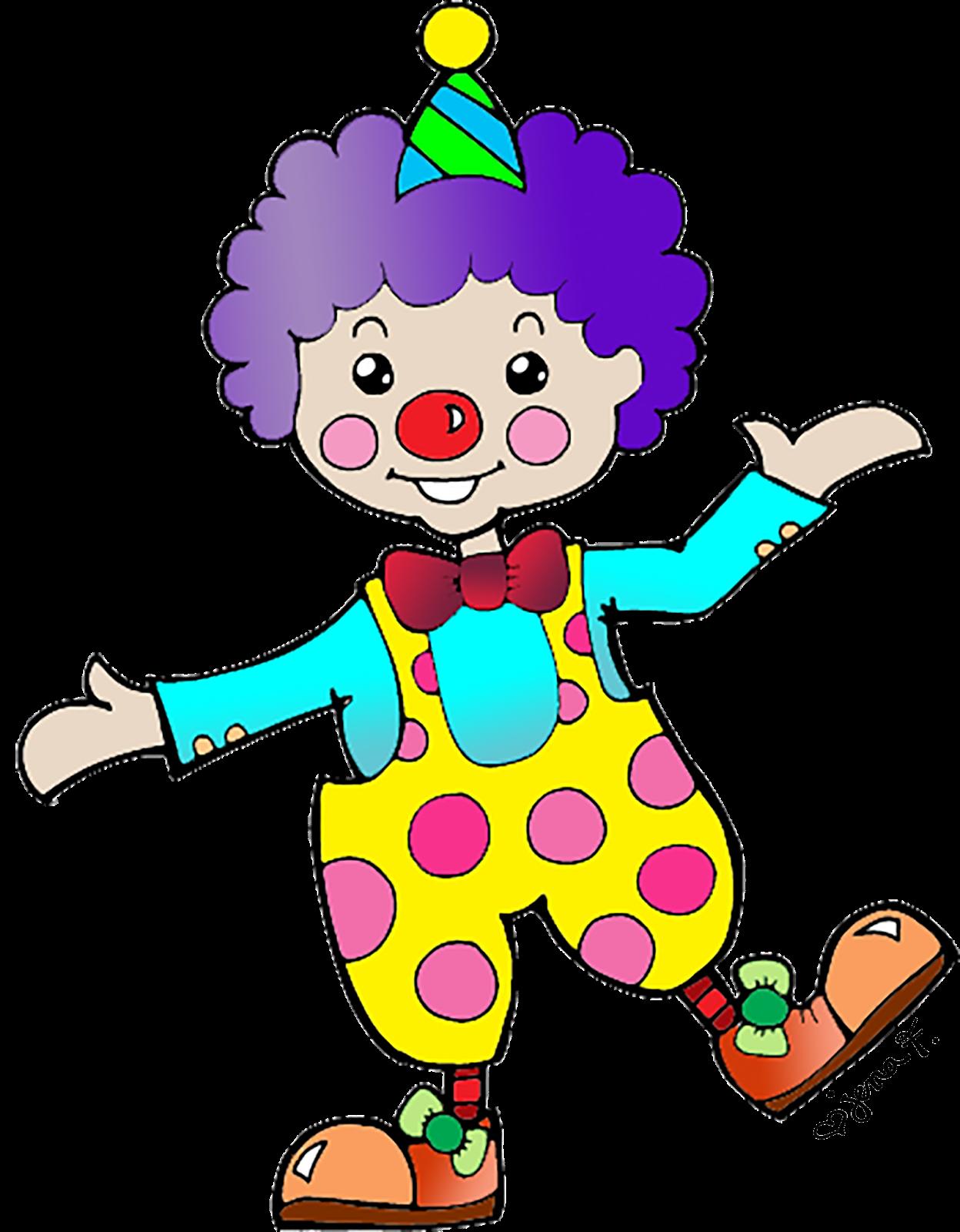 Happy Clown Clipart #1 - Clown Clipart