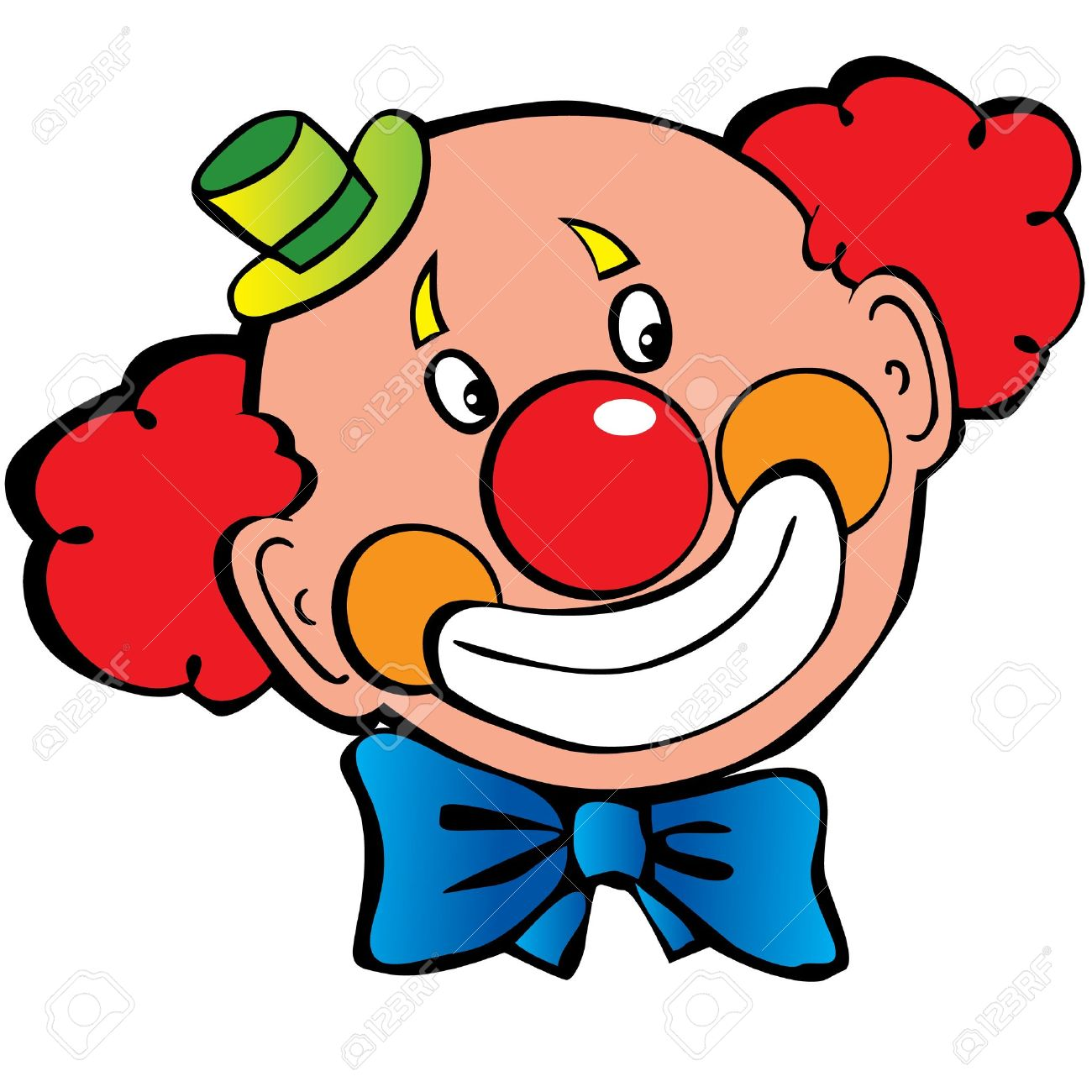 Image of clown face clipart 9 free clown clipart 1 page of