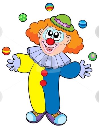 Nice Clown Clipart #1