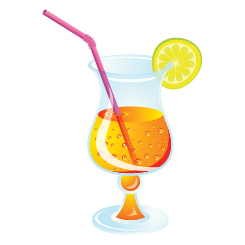 Cocktail clipart CA017 instant download. Free Cocktail Pictures