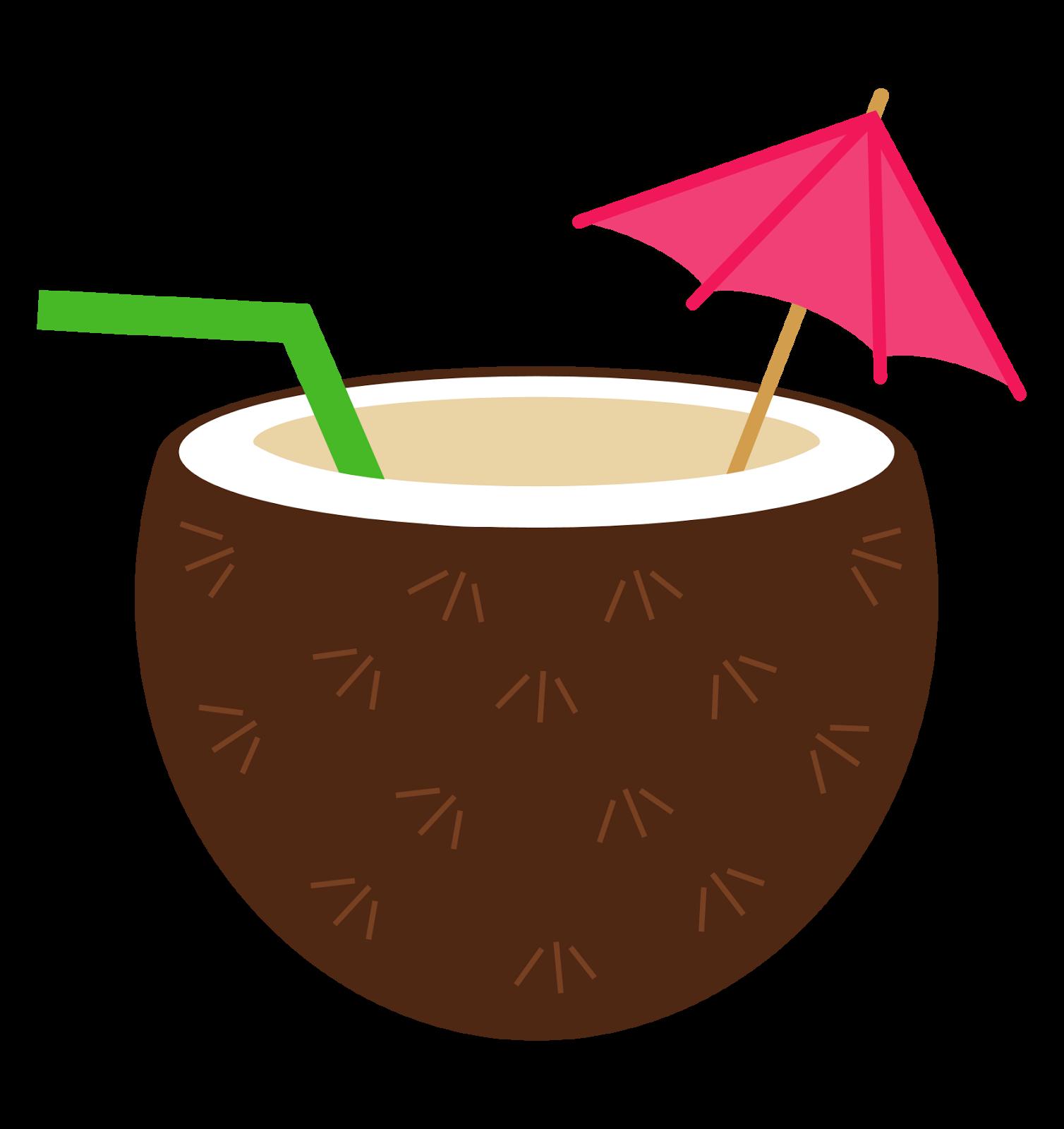 Coconut clipart · Luau flower