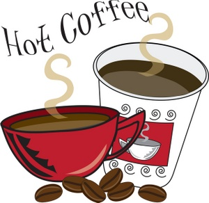 Coffee Clipart Image: Cups of Coffee