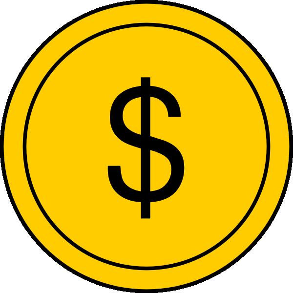 Coin 1 Clip Art At Clker Com Vector Clip Art Online Royalty Free