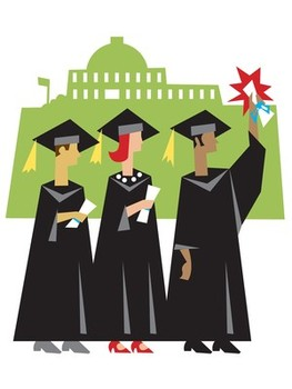 College student studying clipart free clipart images image