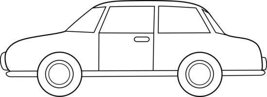 Colorable Car Line Art Free Clip Art u0026middot; Black And White ...