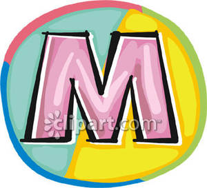 Colorful Letter M - Ro... ...