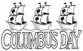 Columbus Day with the Niña, Pinta and Santa Maria