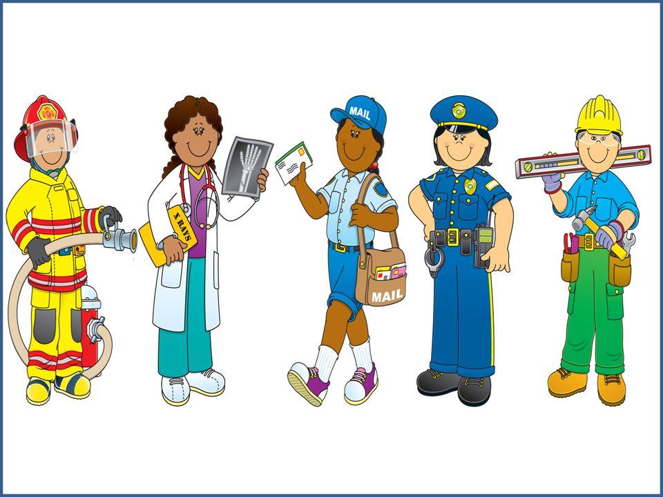 Community Helpers Clip Art .. - Community Helper Clipart