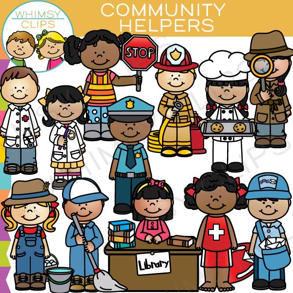 Community Helpers Clip Art Community Helpers Clip Art ...