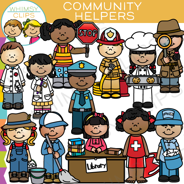 Community Helpers Clip Art ..