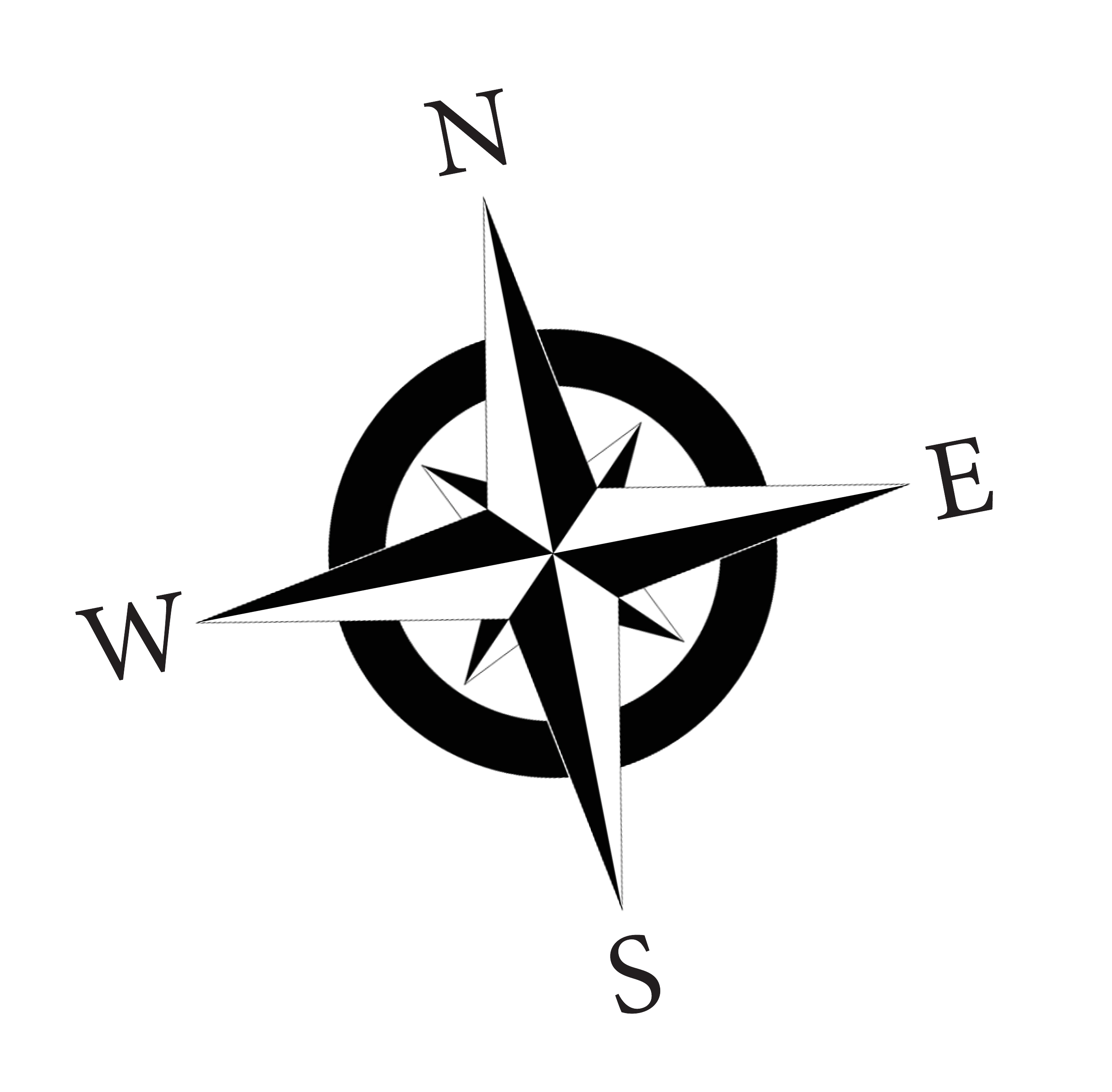 Compass simple clipart