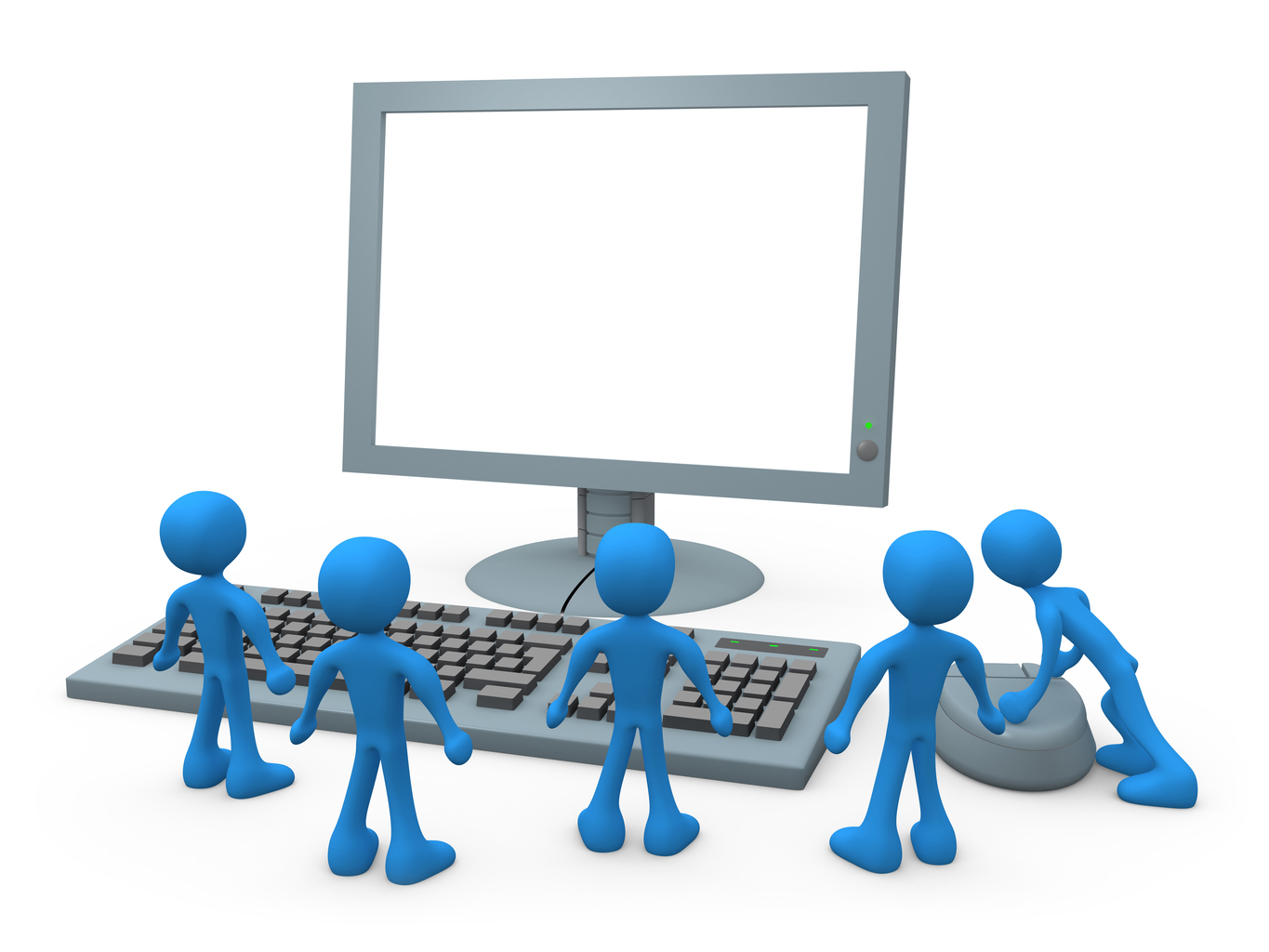 Computer Based Training Clipart