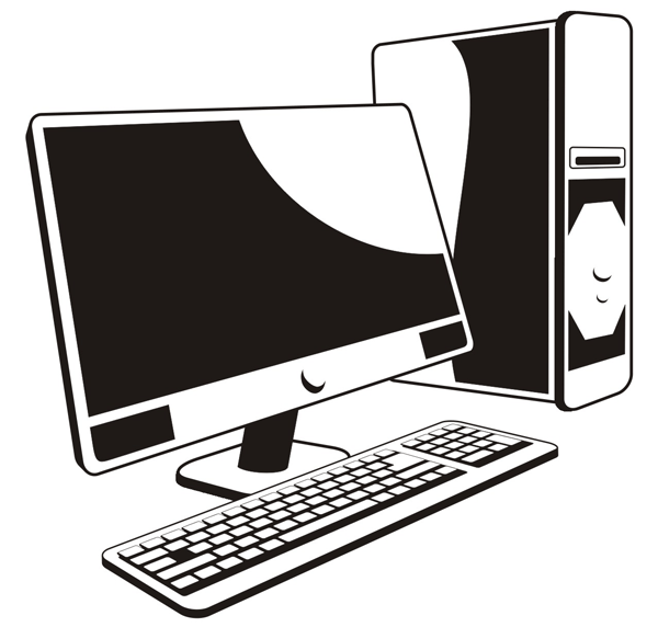 Computer Clip Art - PNG Image #13198