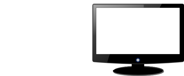 Computer Monitor Clip Art Black And White | Clipart library - Free