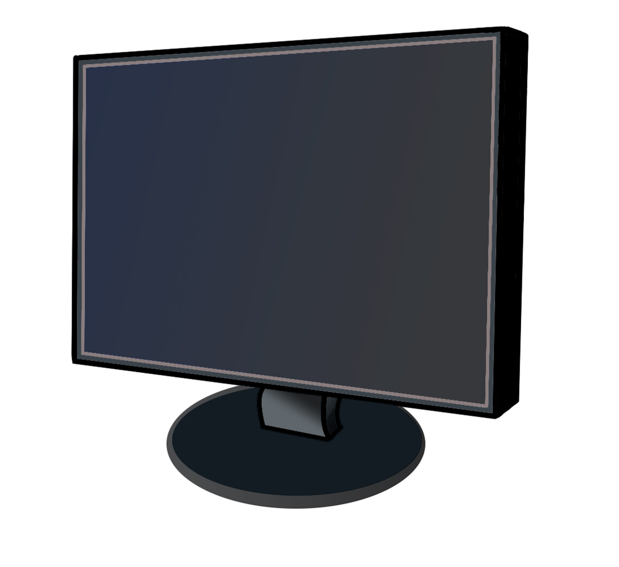 Computer Monitor Screen Clip Art Images Pictures - Becuo