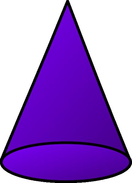 Cone Shape Clipart